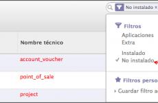 OpenERP v7.0 – Actualización e instalación de módulos